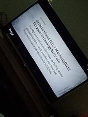 Flatscreen Sony Bravia
