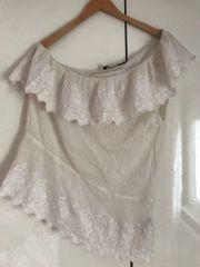 Damen-Bluse Sportsgirl Gr 16 weiß