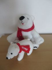 Coca Cola Eisbären Set