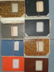 15 Tagebücher 1930-1945 von Kriegsarzt