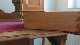 Bild 4 - Barock-Schreibtisch mit Aufsatz - Hockenheim