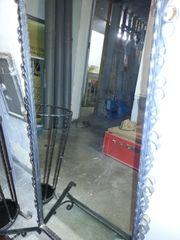 Spiegel mit Metall Rahmen