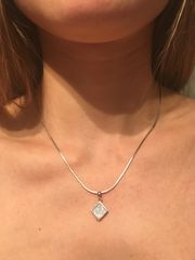 Halskette aus Silber