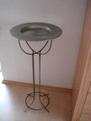 Ständer Metallständer mit abnehmbarem Teller