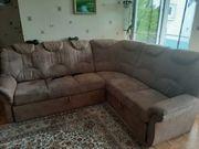 Wohnzimmercouch mit 2 Sesseln