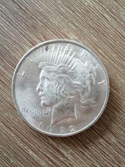 Münze 1 Dollar 1922