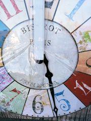 Leinwanddruck - als Uhr OVP