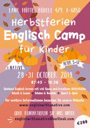 Herbstferien Kinder Camp 2019