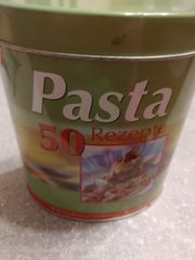 Box mit Pastarezepte