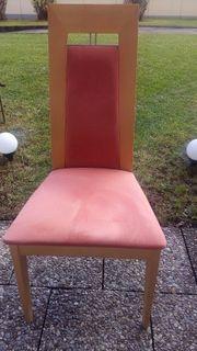 Stühle Esszimmer 6 Stück Birke