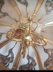 tiffany Lampe Glaslampe mit 6
