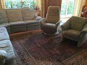 Top erhaltene Sofa Wohnlandschaft Dess