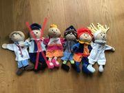 Sterntaler Handpuppen-Set mit 5 Puppen