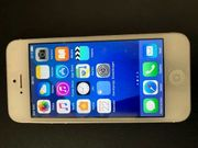 iPhone5 16GB Weiss Silber Top