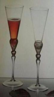 2 Stück Gläser Sektgläser von