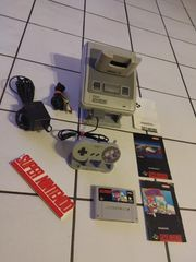 Super Nintendo Konsole - SNES - Mario