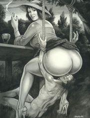 Devoter Leck- und Lustsklave