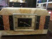 Orig 20-er Jahre Marmor-Art deco-Uhr