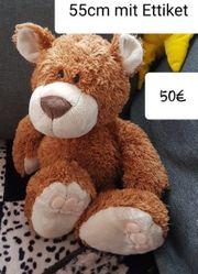 Nici Classic Bär conacfarben 55cm