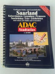 Städteatlas vom Grossraum Saarland