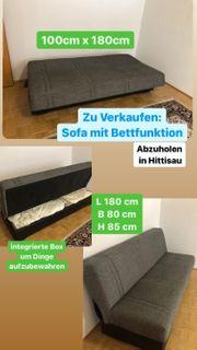 Sofa mit Bettfunktion