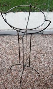 Metallständer Durchmesser 27cm Höhe 70cm