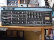 Keyboard Mixer Preamplifier Acoustic Model