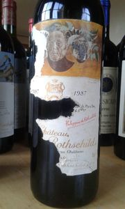 Chateau Mouton Rothschild 1987