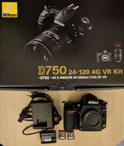 Nikon D750 Body in sehr