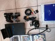 PlayStation 2 Set mit vielen