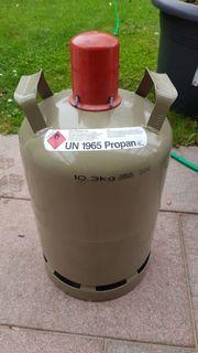 11 kg Gasflasche mit Regler