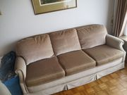 Sofa 3-Sitzer creme sehr hochwertig