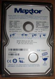 Festplatte HDD IDE 80GB Maxtor