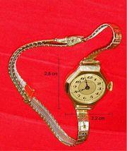 Laco Damenarmbanduhr mit geschmeidigem Armband