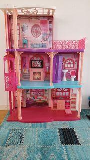 Barbie Puppenhaus XXL günstig
