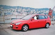 Hyundai i30 CW Kombi Rot