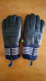 Skihandschuhe Langlaufhandschuhe Handschuhe Leder Größe