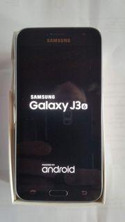 Samsung Smartphone Galaxy J3 schwarz