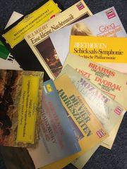 10 Klassiklangspielplatten sortiert
