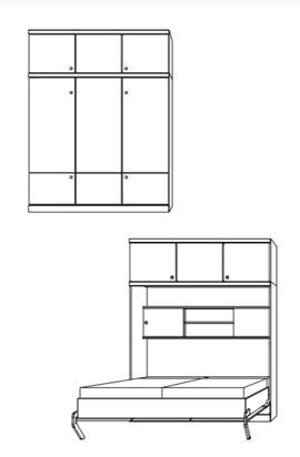 Bild 4 - Schrankbett in Top-Qualität Nehl Wohnideen- - Fürstenfeldbruck Buchenau