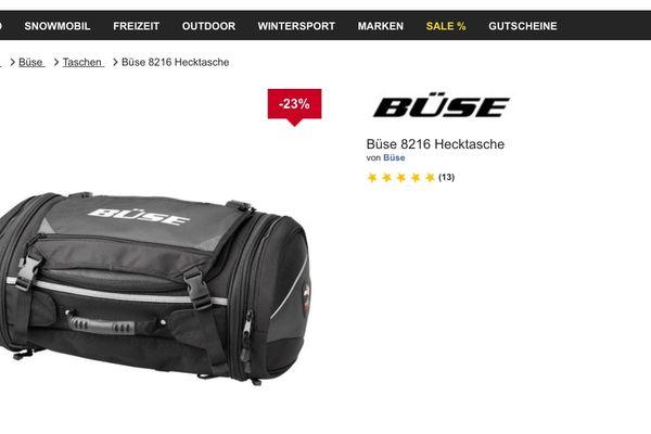 Büse Motorrad Reisetasche