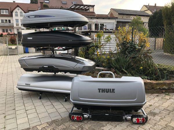 Mieten leihen Thule Dachbox und