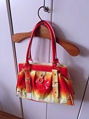 Handtasche mit tollen Farben günstig