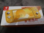Nintendo Switch Lite Gelb NEU