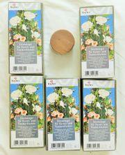 5 Steckkissen für Kunstblumen Trockenblumen