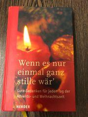Buch Advents- und Weihnachtszeit