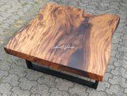 Couchtisch Tisch Suar Holz Stamm