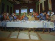 schönen ölgemälde jesusmotiv abendmahl 75