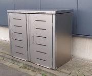 Mülltonnenbox Modell Toppic für zwei
