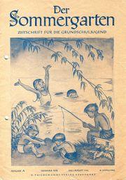Der Sommergarten Zeitschrift für Grundschuljugend